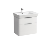 MODERNA R Vanity unit 655 mm (L) with two drawers for washbasin shelf right