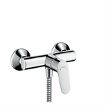 Focus Single lever shower mixer for exposed installation with 2 flow rates 31968000