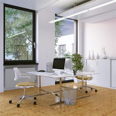 single casement window with roller shutter- renovation installation alya - of1