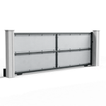 micro-perforated sliding gate