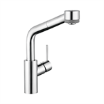 Talis S Single lever kitchen mixer 290 with pull-out spray 04247000