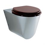 71600 presto wc toilet bowl wall front mounted lvl0