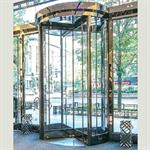 revolving door, crane 3000 series showcase
