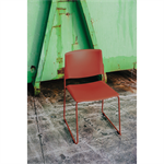 Ema chair, open backrest