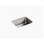 """undertone® 23"""" x 17-1/2"""" x 9-1/2"""" medium squared under-mount single-bowl kitchen sink"""