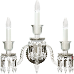 applique zénith cristal clair 3l
