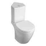 concept space close coupled corner 6/4 litre valve cistern bottom supply