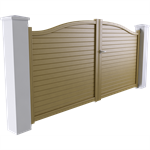 intimité line - cardiff swinging gate model
