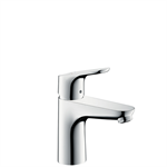 Focus Single lever basin mixer 100 with 2 flow rates with pop-up waste set 31657000