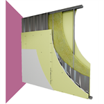 burglar-resistant drywall - securblock ® - siniat