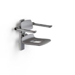 Pressalit PLUS Shower Seat 450 Manual With Aperture