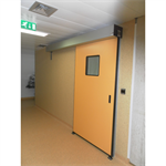 Automatic door - Hermetic SL_P50 left without fixed leaf
