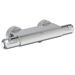 ceratherm t50 shower thermostatic exposed offset w / shelf