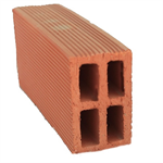 Double Hollow Clay Brick 25 cm