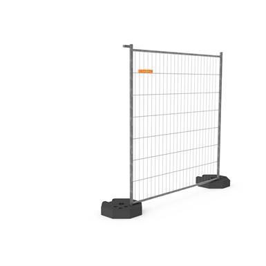 cisabac clôture mobile grillagée cmgr 220