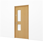Timber Door, Premium Office - Single