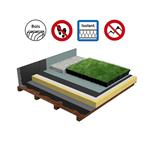 systèmes pour toiture terrasse végétalisée isolation bois