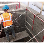 Xypex Megamix II with Bio-San C500 - Antimicrobial Crystalline Waterproofing Repair Mortar