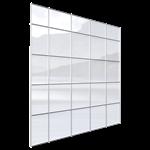 façade rideau univers® 54 trame verticale