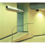 Automatic door - Single slide left without fixed leaf, full framed
