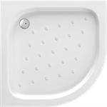 Standard new semicircular shower tray 80 cm
