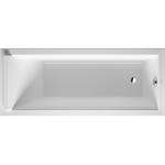 starck rectangular bathtub 700345