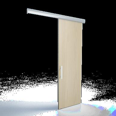 saf 80a-300 (l = 3 m) -  pour portes en bois 80kg - coulissants premium
