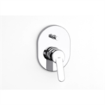 V2 | VICTORIA Built-in bath-shower mixer w/ automatic diverter