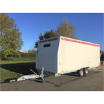 12-person construction trailer with shower