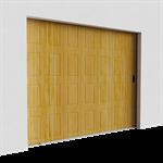 cassette faux bois déplacement latéral