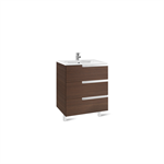 VICTORIA-N 600 Unik Family (base unit and basin)