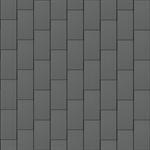 großraute dach (600 mm x 1500 mm, vertikal, prepatina schiefergrau)