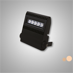 larvik slim noir 10w- eclairage extérieur blanc 5000k