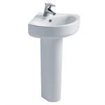 concept arc 45cm corner washbasin, 1 taphole