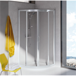 tipica r shower enclosure 80x80 550mm white