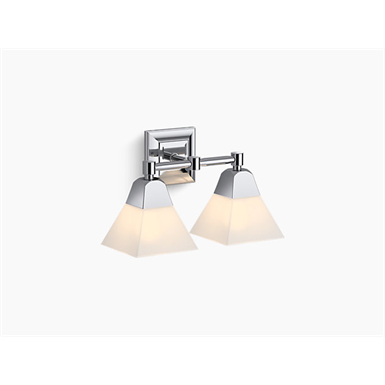 memoirs® two-light sconce