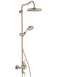 AXOR Montreux Showerpipe with thermostat and overhead shower 240 1jet 16572820