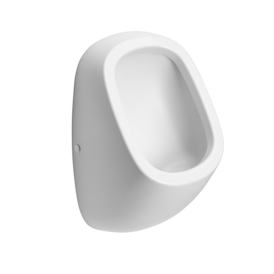 jasper morrison urinal, rim flushing, fully concealed