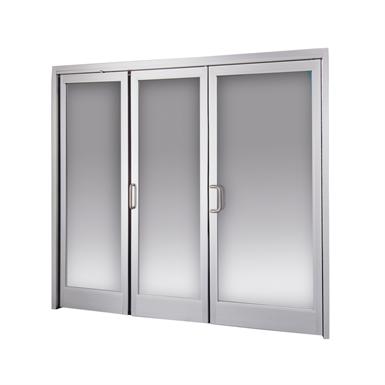 manual swing door, bi-directional, bi-fold icu1200 r15