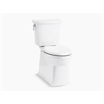 corbelle® comfort height® two-piece elongated 1.28 gpf chair height toilet with continuous clean technology