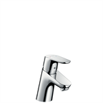 "Focus Single lever basin mixer 70 with pop-up waste set, 1/2"" nut, 2 Ticks 31730019"