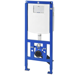 aquafix installation frame for barrier-free with wall-installation cistern aqfx0007