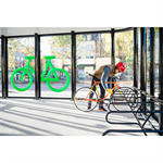 FLOW 8x18m Bicycle Garage