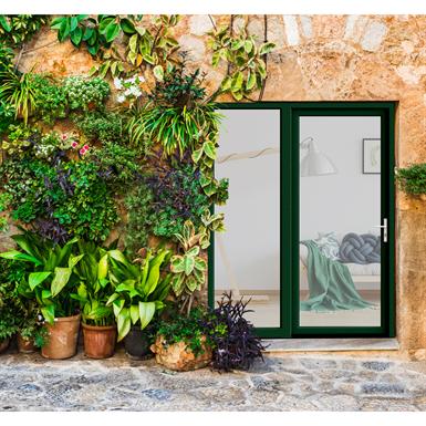 single french door - renovation installation - in'alpha 80 - pf1