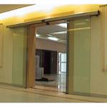 Porte automatique - Porte coulissante à double vantail A20-1 sans panneau fixe