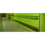 impact - wall protection rail height 200 mm