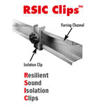 Noise S.T.O.P.™ RSIC-1 Resilient Sound Isolation Clip For Wall & Floor Ceiling Assemblies