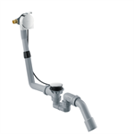 Exafill S Complete set bath filler, waste and overflow set for standard bath tubs 58113000