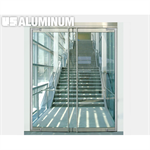 Balancer™ Series All Glass Frameless Balanced Doors