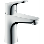 Focus Single lever basin mixer 100 CoolStart with pop-up waste set 31621000
